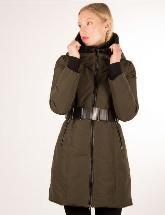 Belted coat by Sicily