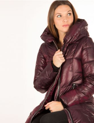 Glossy puffer coat by Sicily
