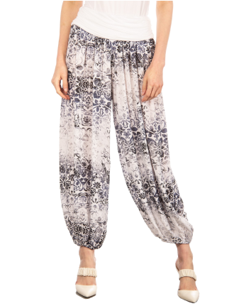 Printed aladdin pants by Froccella