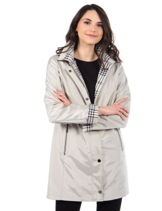 Water repellent coat by Fennelli