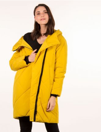 Coccoon shape puffer jacket by Styla